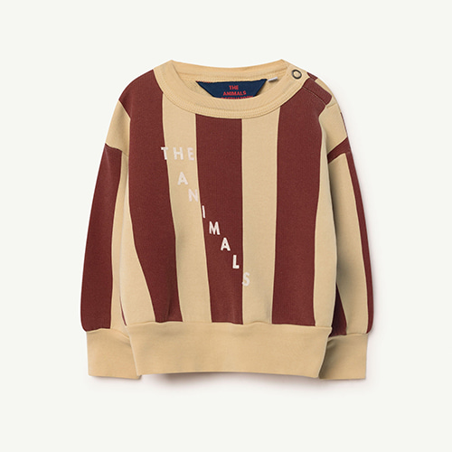 YELLOW STRIPE SWSHIRT (BABY)