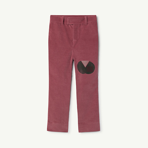 MAROON APPLE PANTS
